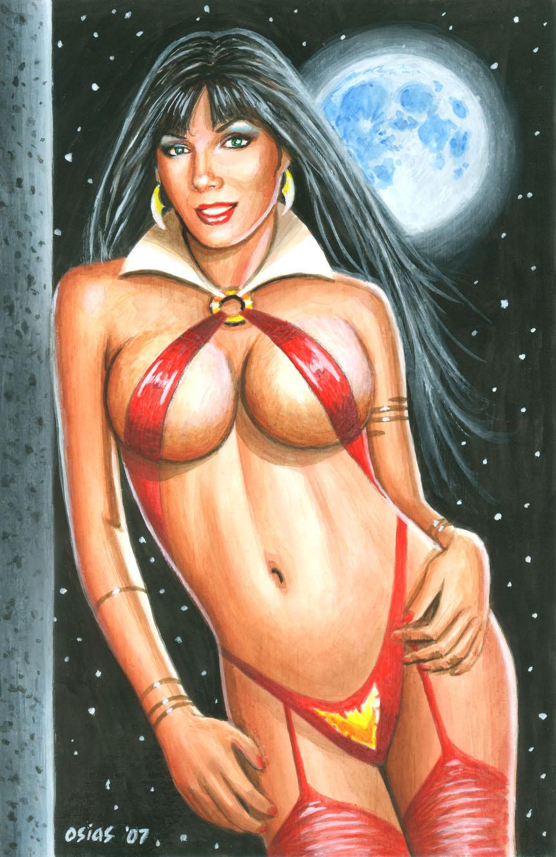 Vampirella 'Eva' by Bugstomper86