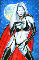 Lady Death 'Night Out' by Bugstomper86