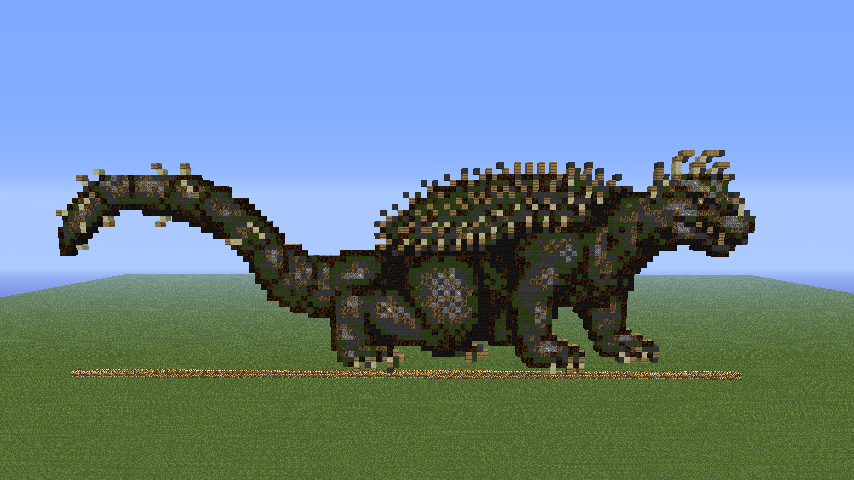Minecraft Pixel Art 18 Anguirus Dam Super F By Gojirayoshi On Deviantart