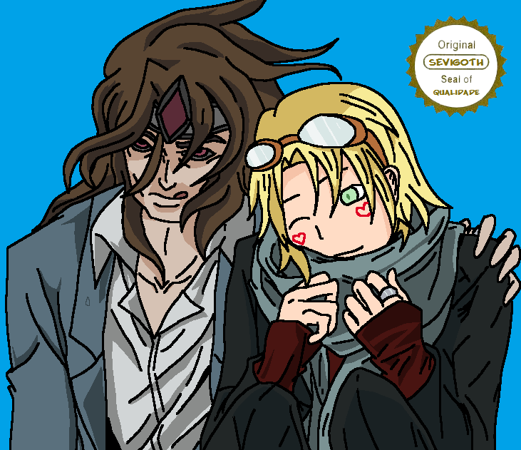Taric and Ez by Sevigoth on DeviantArt
