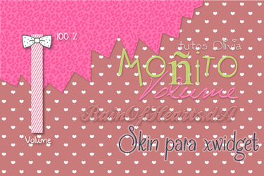 Monito Volume Xwidget Skin by RainOfHearts
