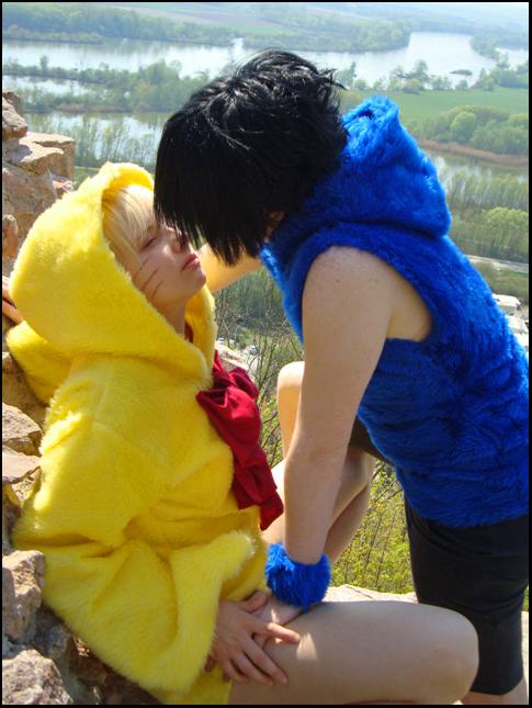 PiyoPiyo - Let me kiss you. by Devil-Kasai