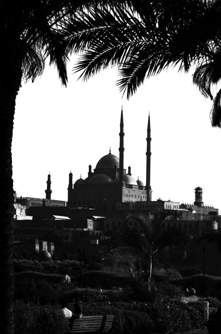 The Saladin Citadel of Cairo by Louayr