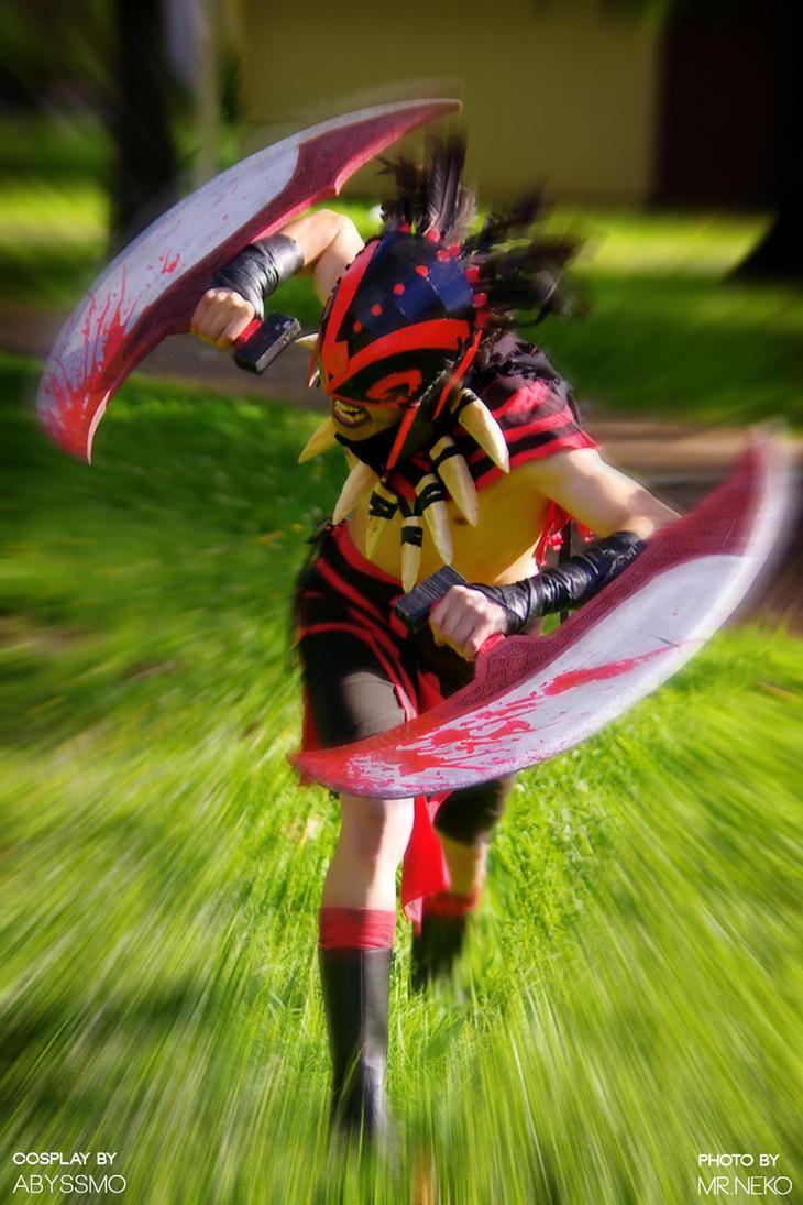 Bloodseeker Cosplay - Dota 2 by Abyssmosis on DeviantArt