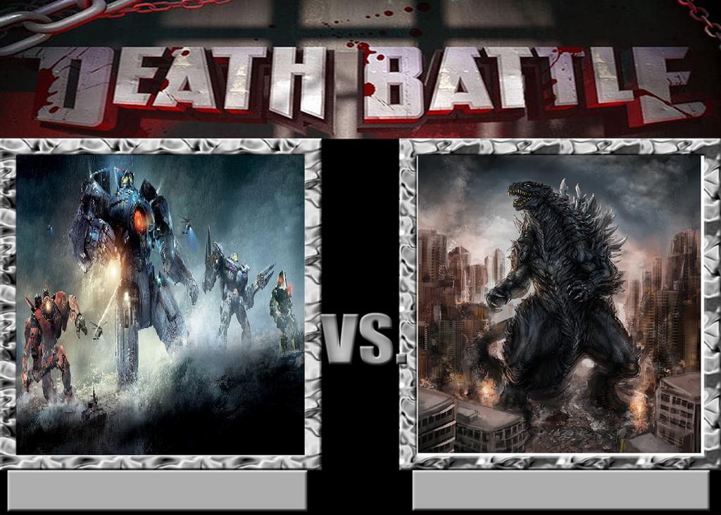 Death Battle: Jaegers vs Godzilla by Sideswipe217
