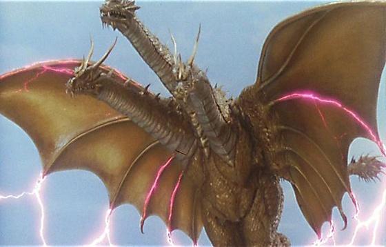 Godzilla Legacy King Ghidorah by Sideswipe217 on DeviantArt