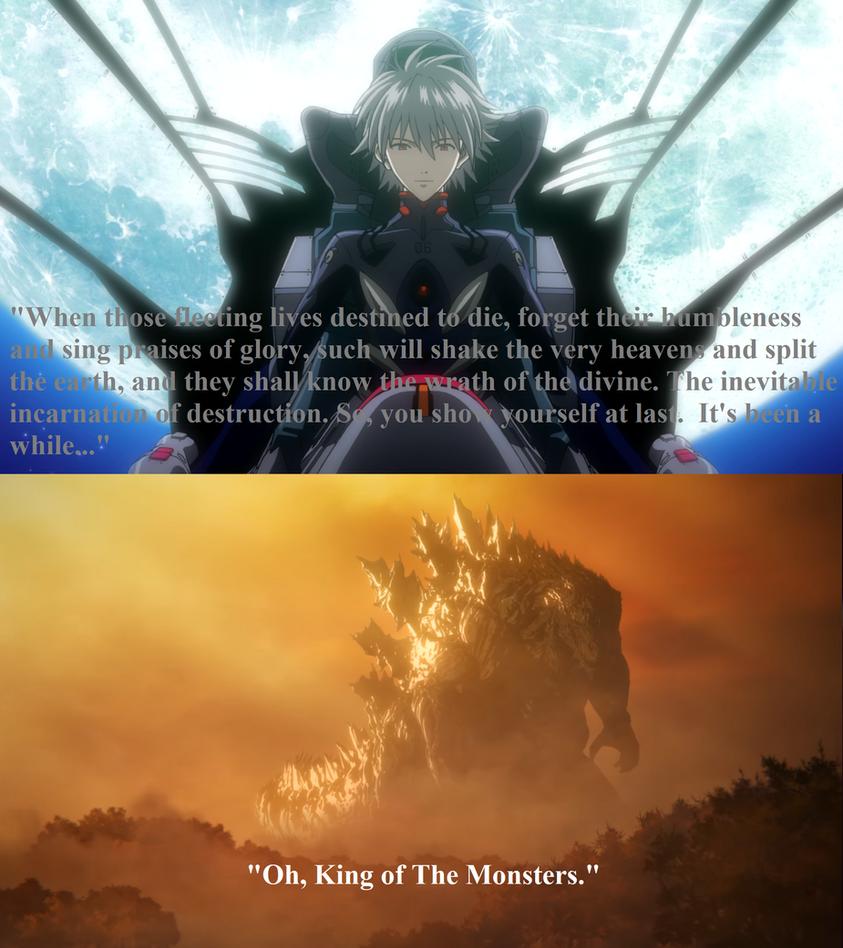 Evangelion/Godzilla POTM - King of The Monsters by Sideswipe217