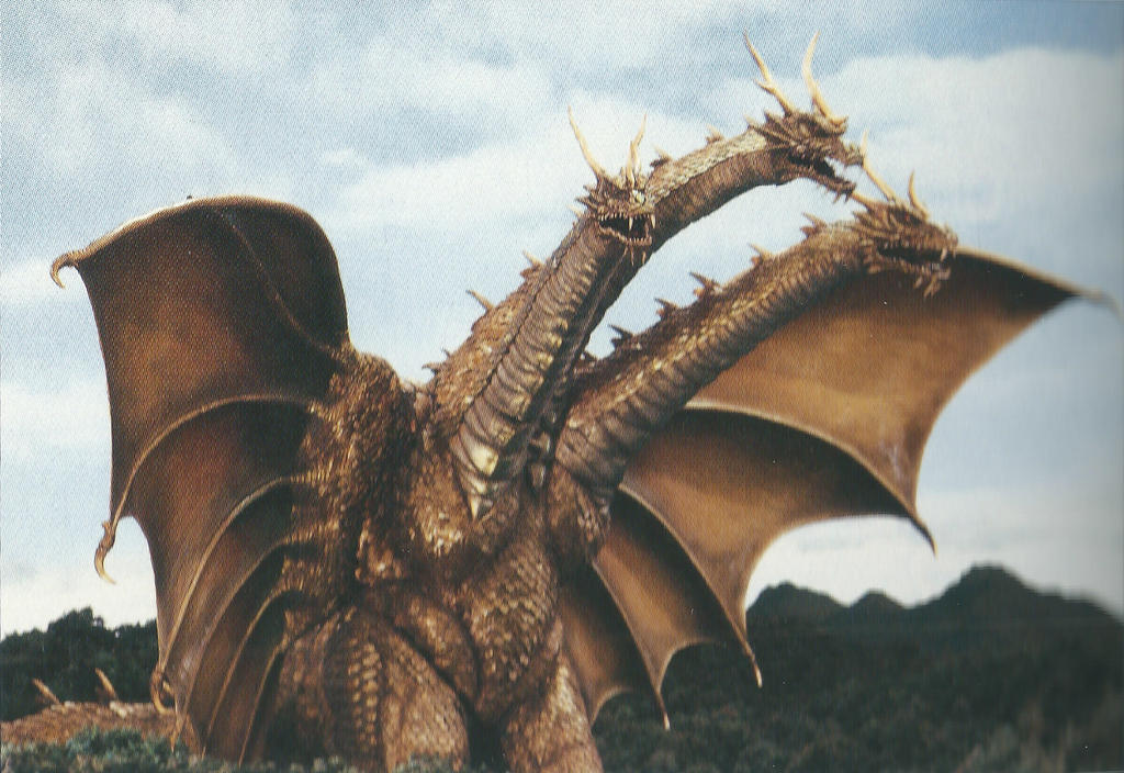 8 FACTS FOR MY ANIME KING GHIDORAH        Character Tagged: King Ghidorah by Sideswipe217