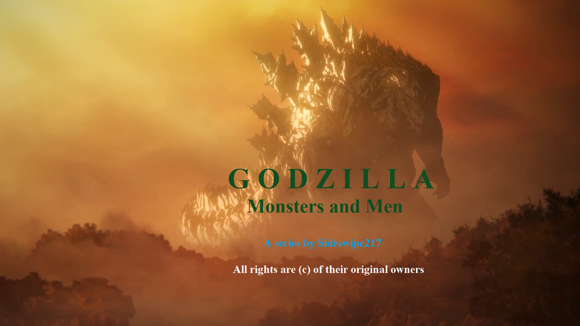 GODZILLA Monsters and Men Poster by Sideswipe217