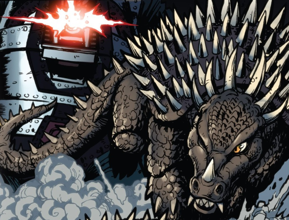 Godzilla WOR: Anguirus by Sideswipe217 on DeviantArt