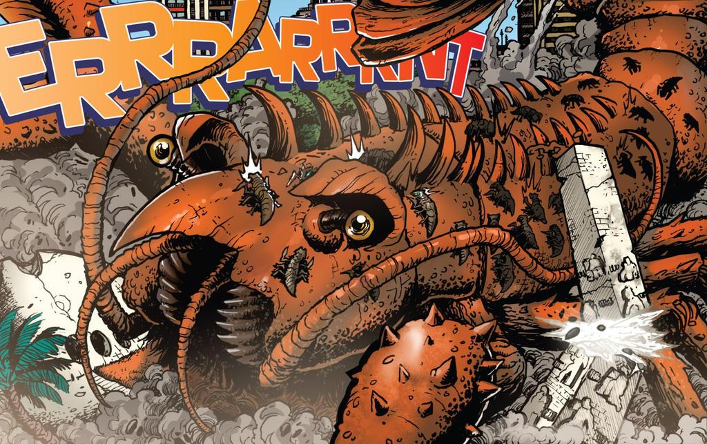 Godzilla WOR: Ebirah by Sideswipe217 on DeviantArt