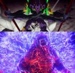 Rebuild of Eva/Godzilla - Battle of The Gods