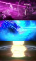 Rebuild of Eva/Godzilla - Beam War
