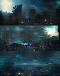 Godzilla King of The Monsters - Let Them Fight by Sideswipe217