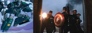 Marvel/TF - Howling Comandos