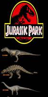 RWBY/JP V1 - Jurassic Park Phase 1 Dinosaurs