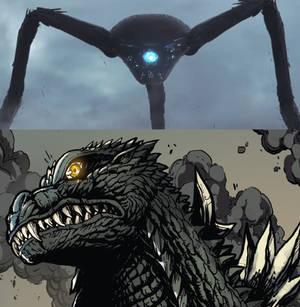 Godzilla War of The Worlds - First Encounter