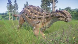Dinovember Day 24 - Euoplocephalus