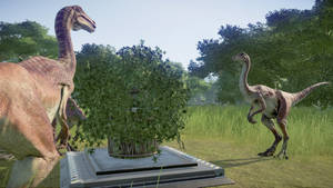 Dinovember Day 25 - Gallimimus