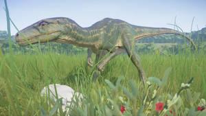 Dinovember Day 28 - Herrerasaurus