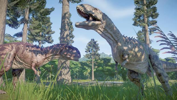 RWBY/JP Rebuild - Majungasaurus