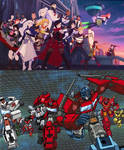 RWBY/TF - Roll Out!