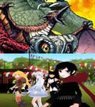 Godzilla/RWBY - Something Unexpected