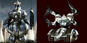 Godzilla X DiTF - Project: M.O.G.U.E.R.A.