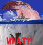 Titanosaurus' reaction to Godzilla Aquatilis