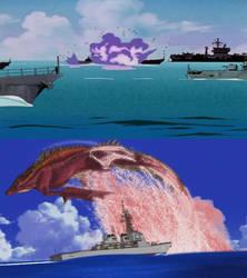 GSP X Evangelion - Aquatilis appears
