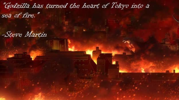 Godzilla: Singular Point - Sea of Fire