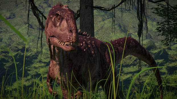 Jurassic Park Chaos - Majungasaurus