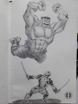 Hulk Vs. Deadpool