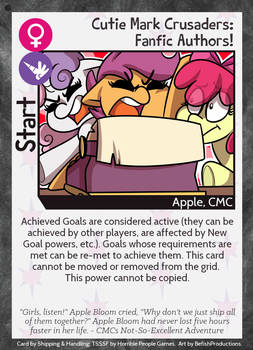Cutie Mark Crusaders: Fanfic Authors!