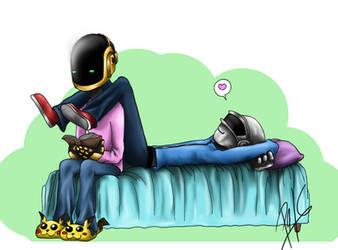 Reading by ChocoPols