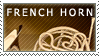 French Horn Stamp by Mythical-Pixel