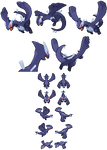 Shadow Lugia sprites for fangames