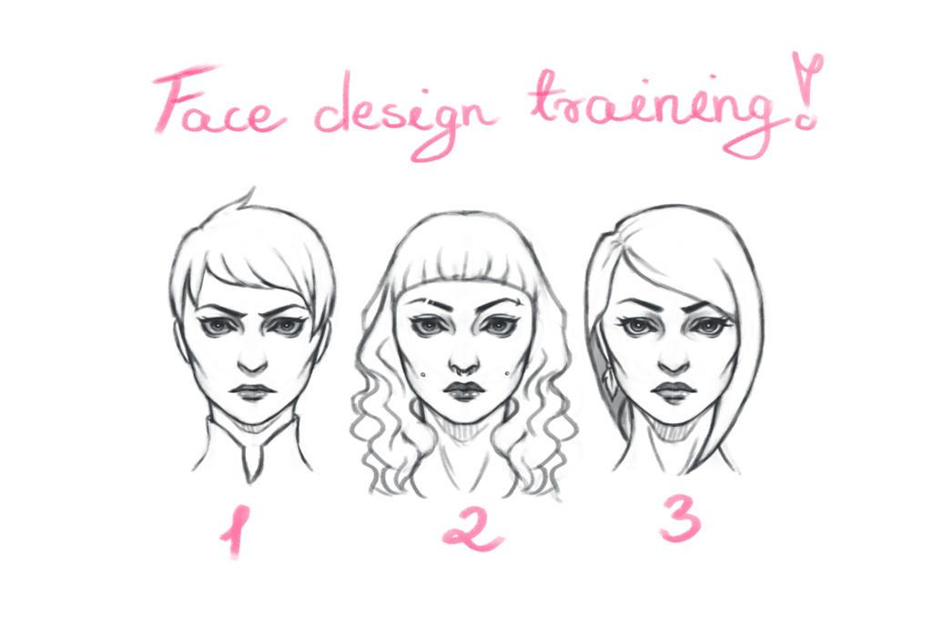 Face designs by Bezwyrazu