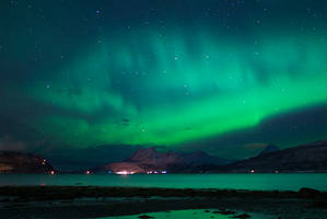 Aurora Borealis or Giant Fish? by KennethSolfjeld