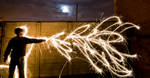 Wizard of light painting