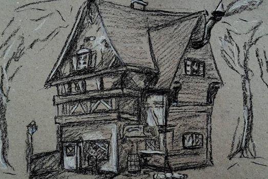 House-Sketch #2 by Meine-ArtxWeise