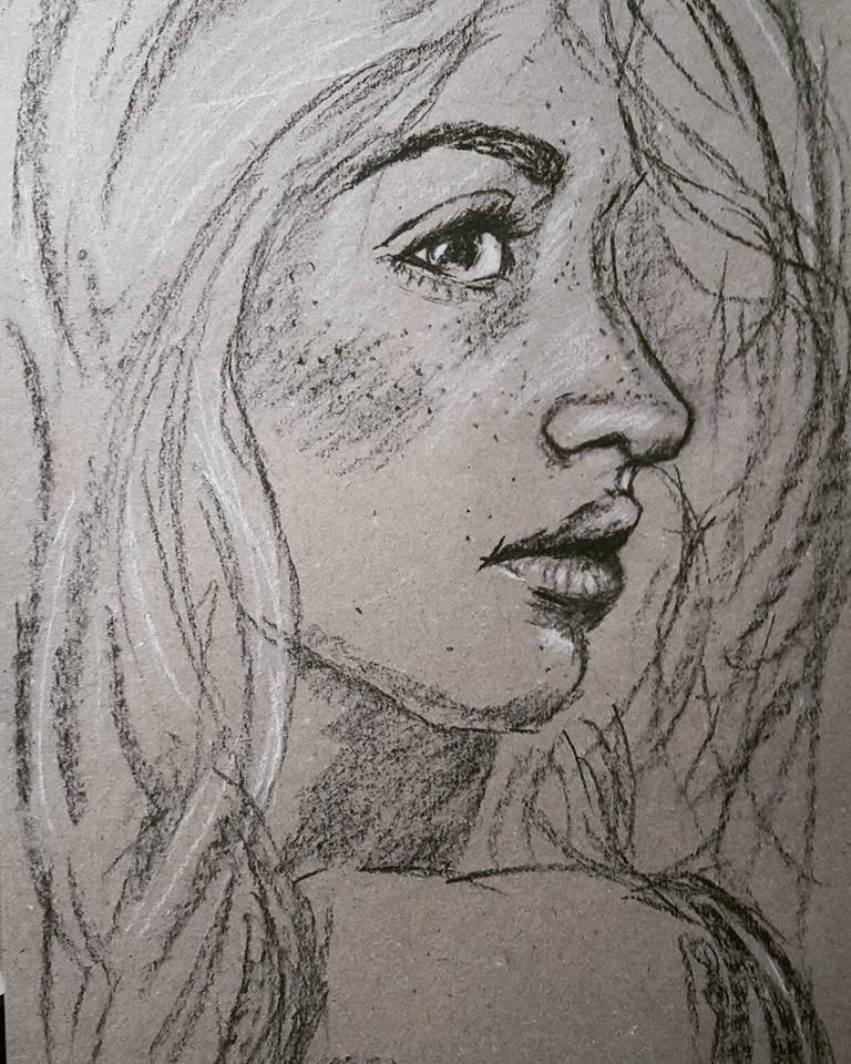 Girl-Portrait by Meine-ArtxWeise