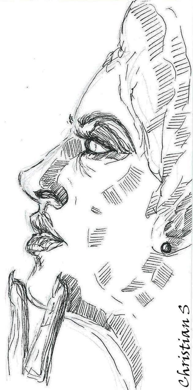 Woman-Portrait by Meine-ArtxWeise