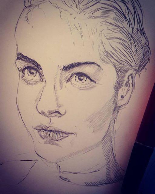 Girl Portrait #2 by Meine-ArtxWeise