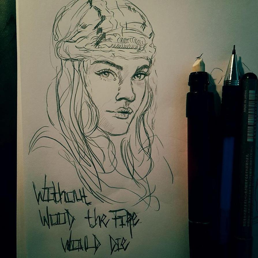 Gypsy-Girl Studies by Meine-ArtxWeise