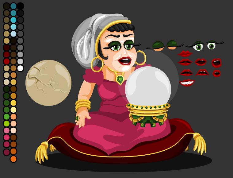 OynaTurkaCharacterVoodooLady by ckgkhn