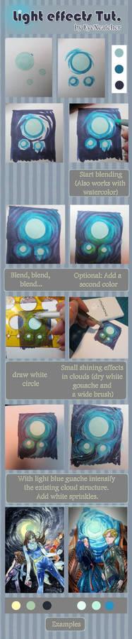 Tutorial Light, Glow Effects by EyeXcatcher