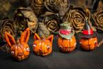 Halloween pumpkins in Wonderland