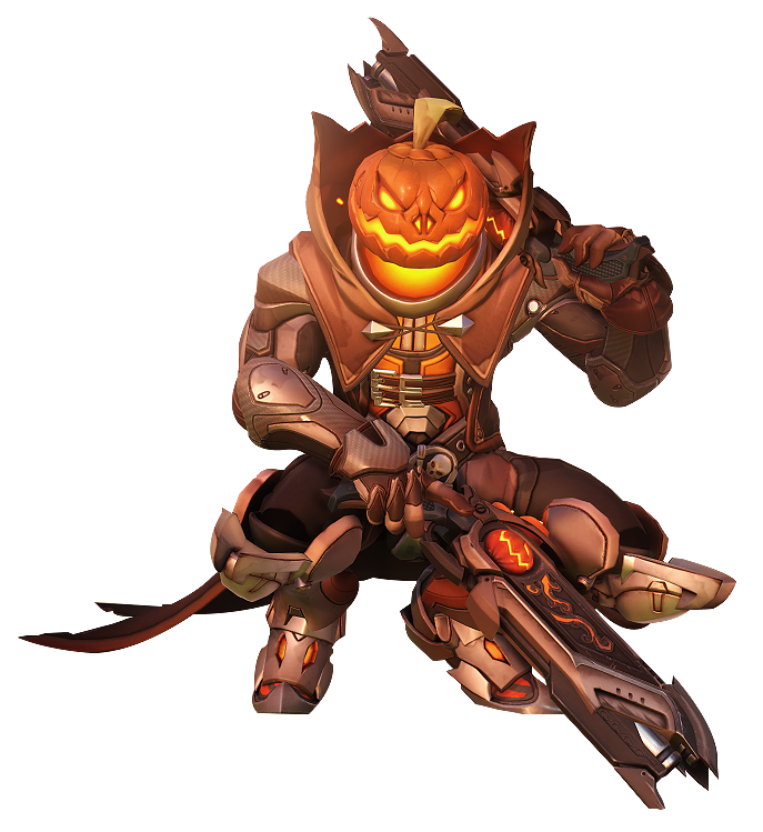 Overwatch] Reaper Halloween Pumpkin by Akaniya on DeviantArt