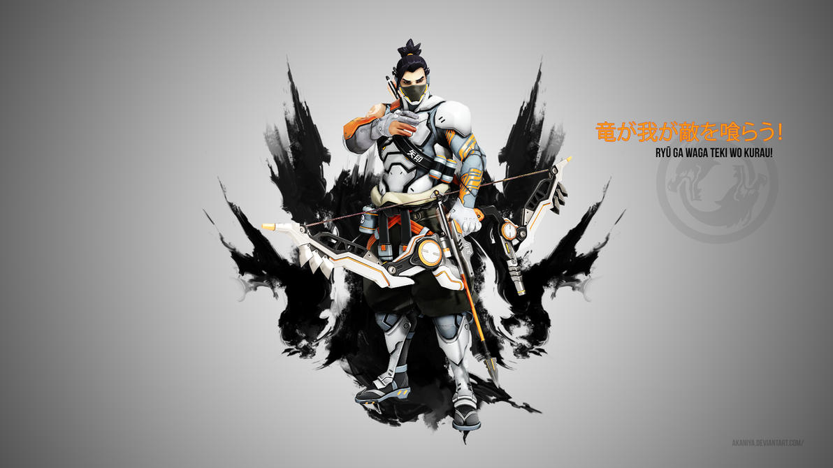 overwatch hanzo wallpaper - cyborgninjaakaniya on deviantart